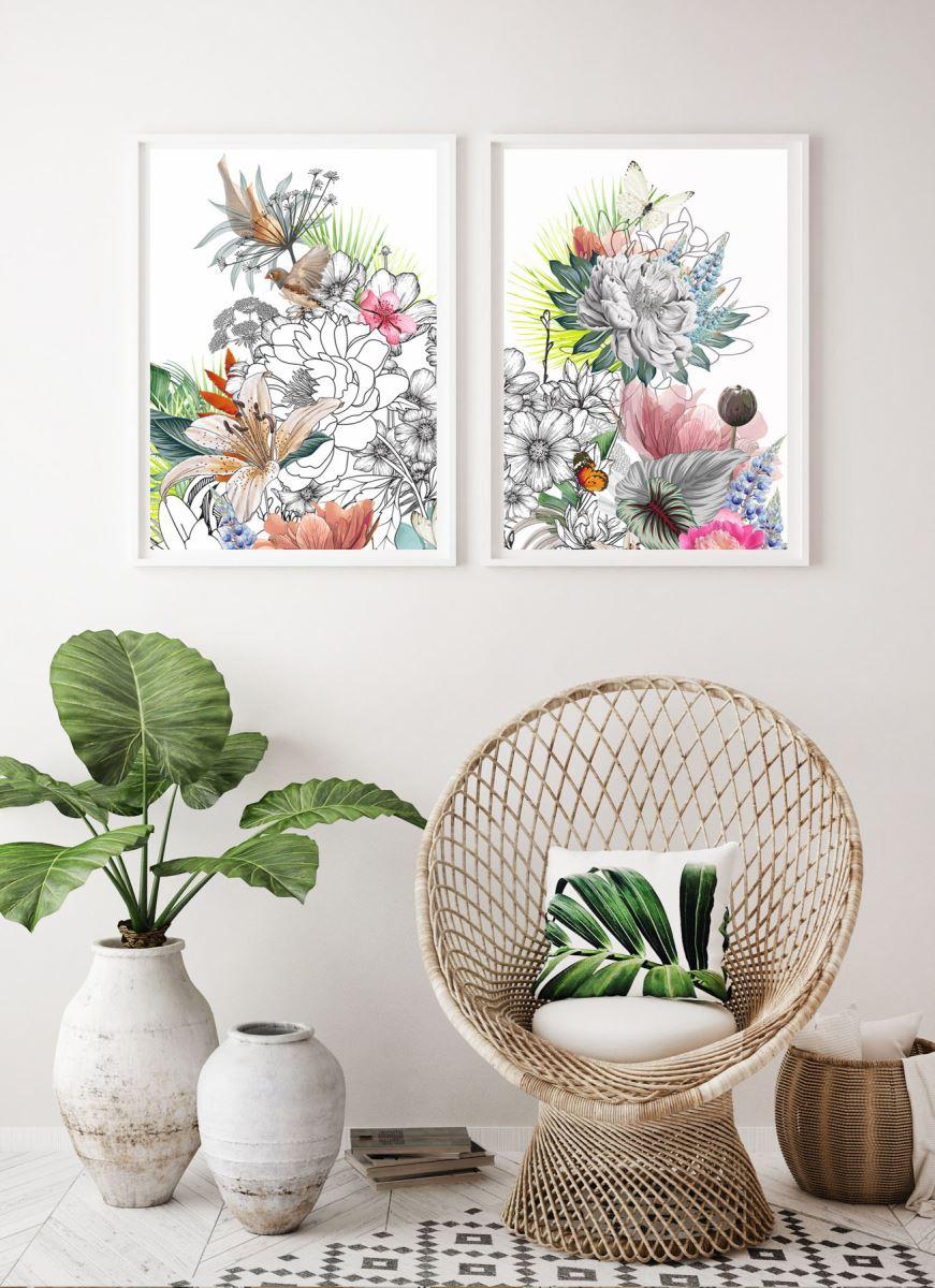 WILD BOUQUET / canvas print