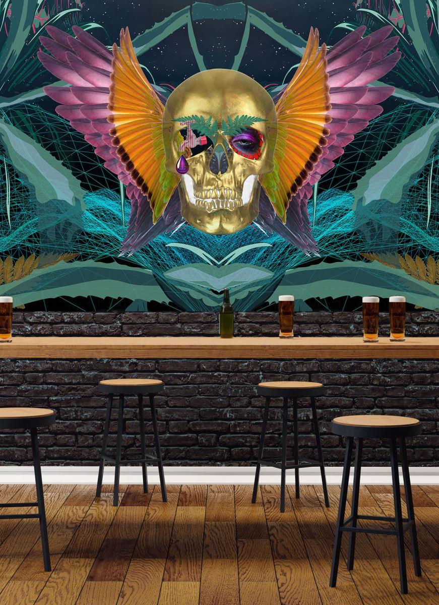 MEXICAN TRIP / wallpaper 444 x 145 detail