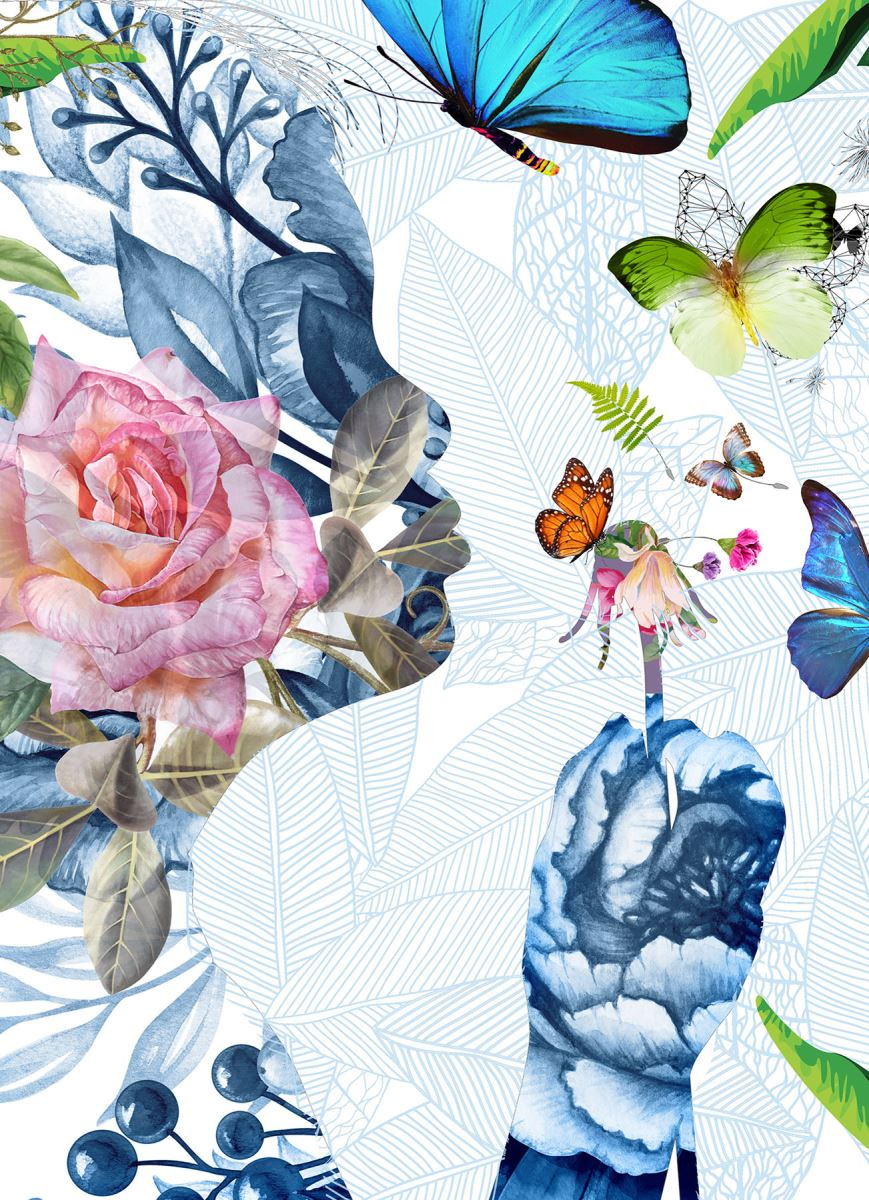ABIGAIL / wallpaper - detail